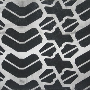 Noah Loesberg, Tire Tread #1, 2011