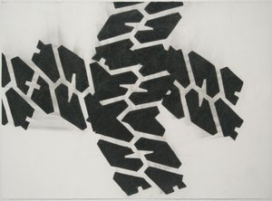 Noah Loesberg, Tire Tread #4, 2011