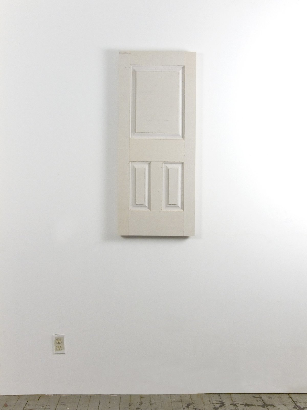 Noah Loesberg, Drywall Door, 2007