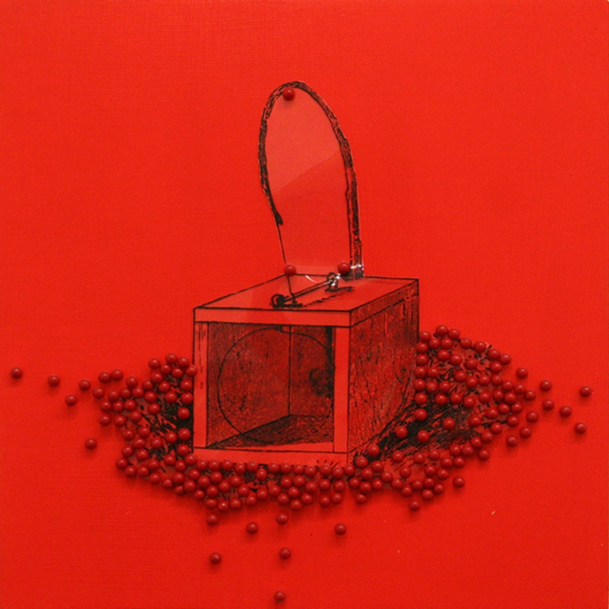 James Cullinane, Trap Painting 3, 2012