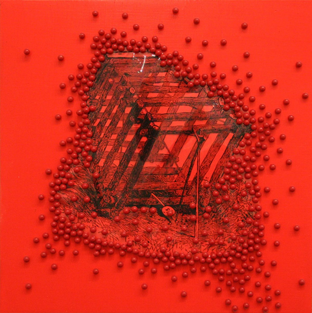 James Cullinane, Trap Painting 6, 2012