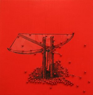 James Cullinane, Trap Painting 7, 2012