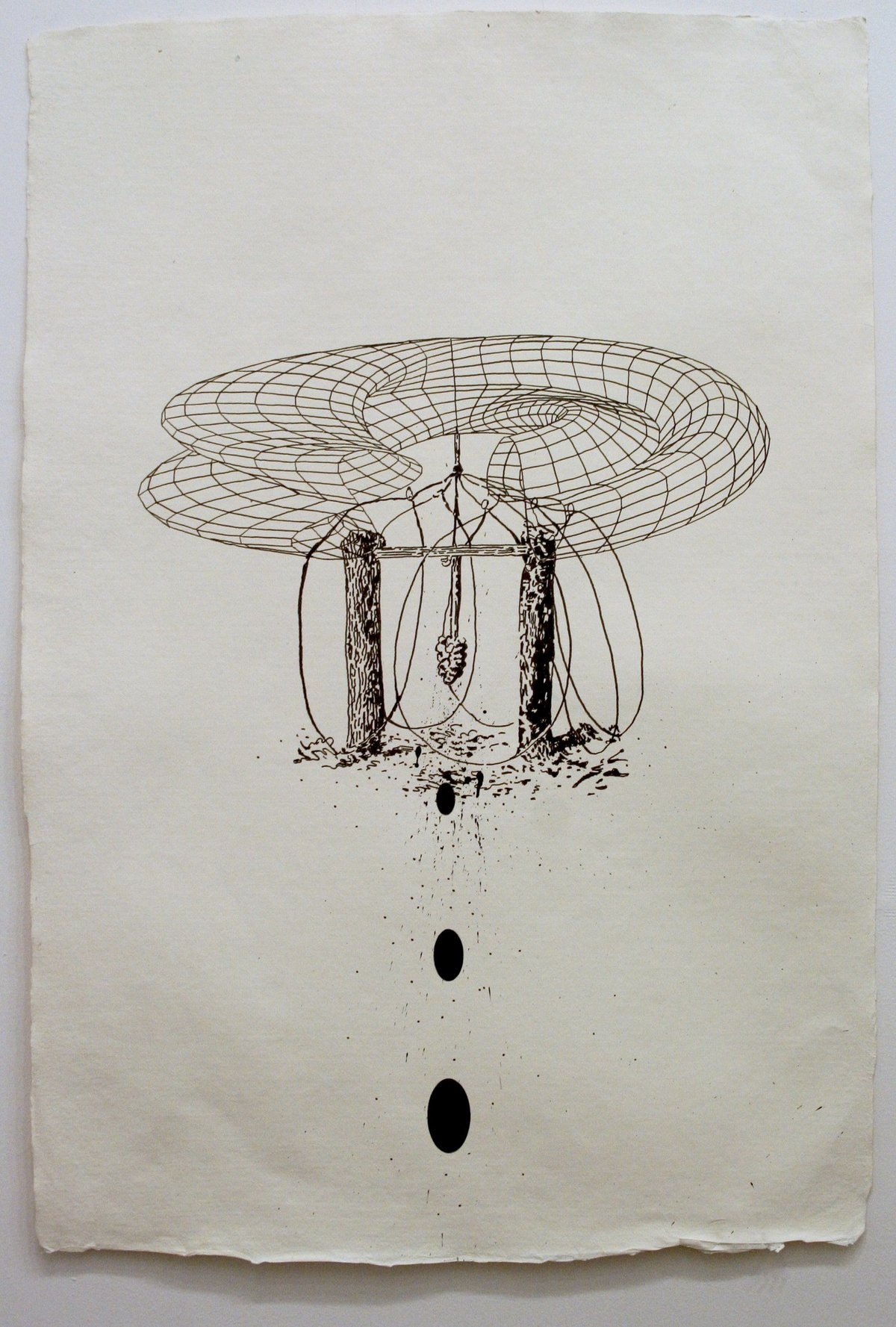 James Cullinane, Snare Drawing 1, 2012