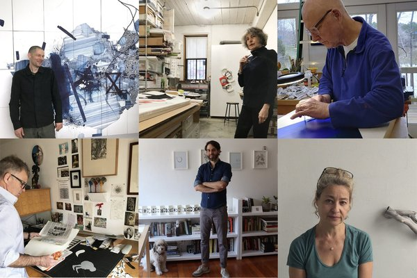 Studio Visits January - June 2019