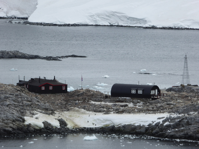 "Port Lockroy, ""The Penguin Postoffice."" It used to be a British research station, now it's just a tourist attraction."