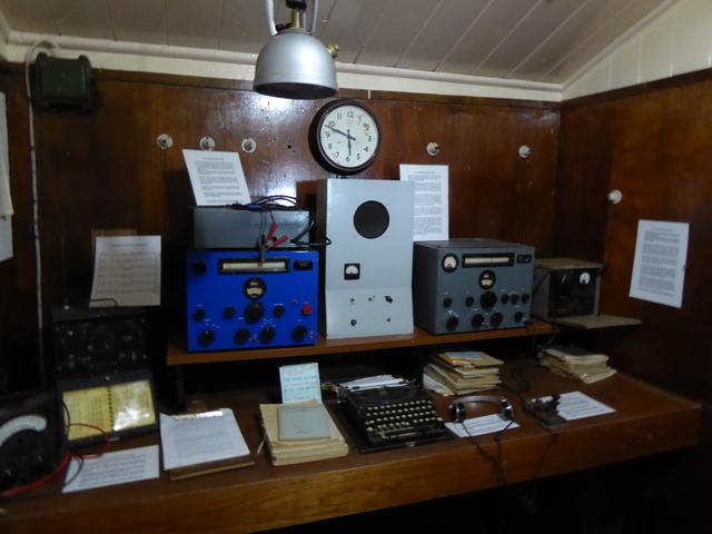 Radio room.