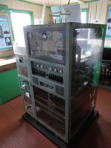 This machine was used for research about the ionosphere, which lead to advances in high frequency radio.