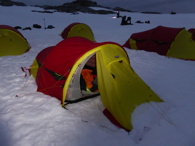 Camping in antartica!