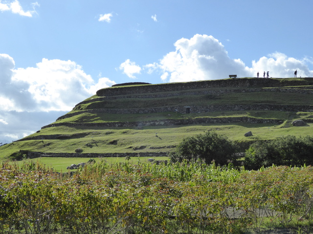 Pumapungo Inca ruins.