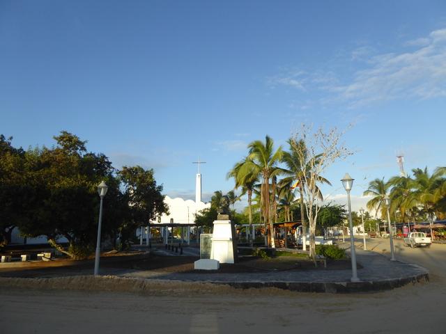 Puerto Villamil on Isla Isabela.