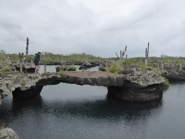Lava bridge.