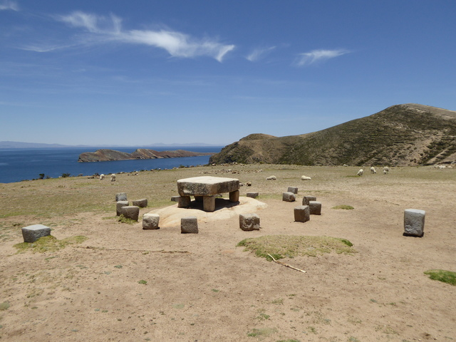 This is know as the Inca Table, and is believed to have been used for human sacrifices.