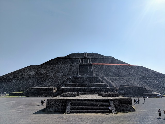 The Temple of the Sun! Quite imposing, huh?