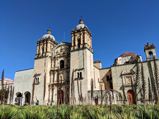 Santo Domingo church. Used to be a monastery, now it's a very nice museum.