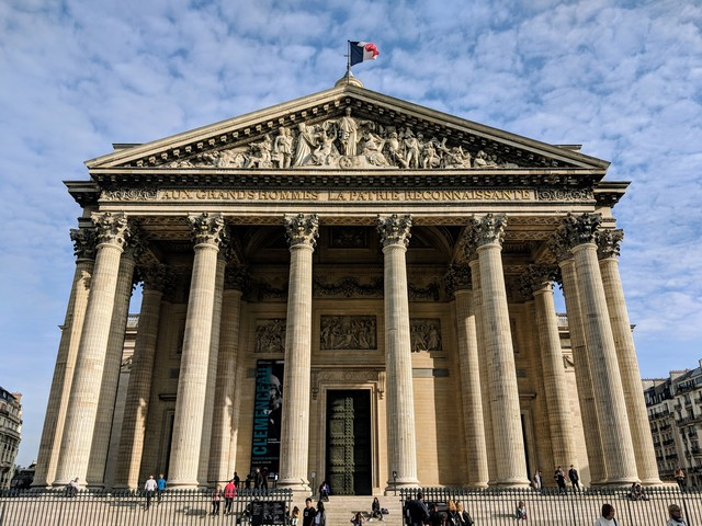 The Panthéon, not to be confused with the one in Rome.