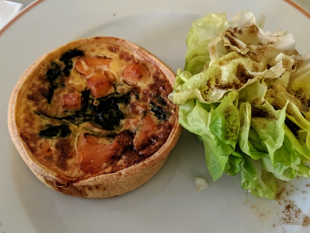 Fancy quiche. Are you seeing a trend here?
