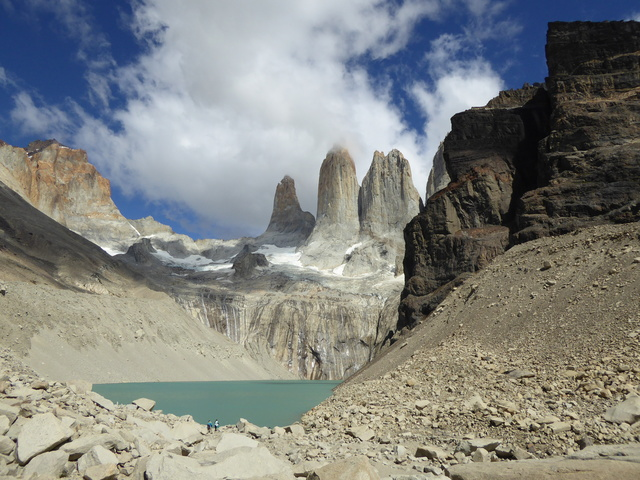 The Torres Del Paine (Towers of Paine).
