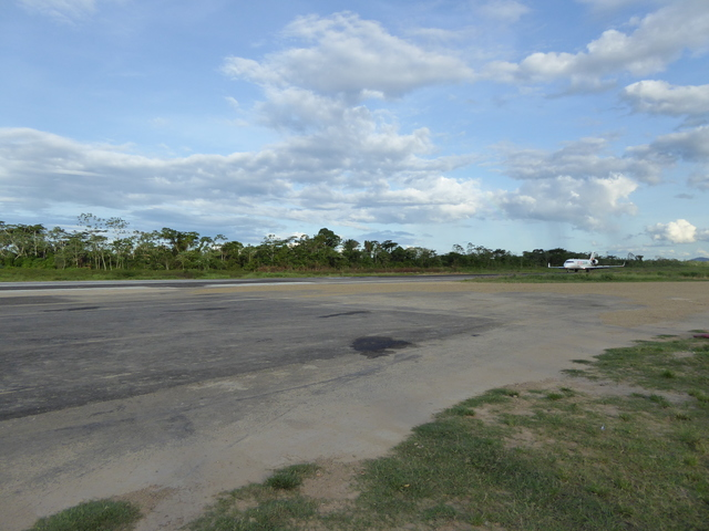This is the runway Rurrenabaque airport. There is no refueling here, planes come from La Paz and then go straight back.