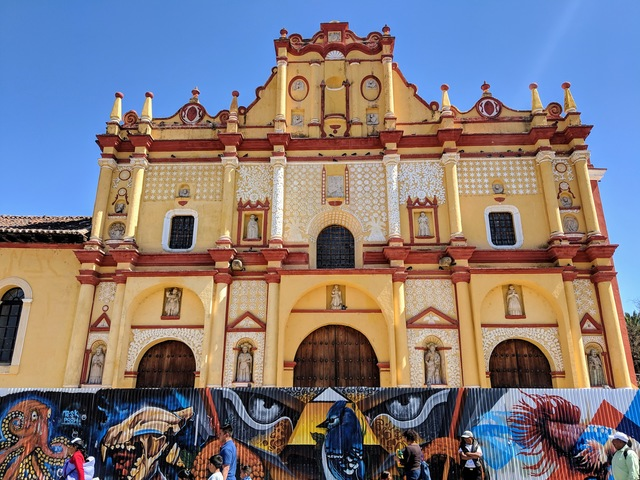 Santo Domingo, a former convent