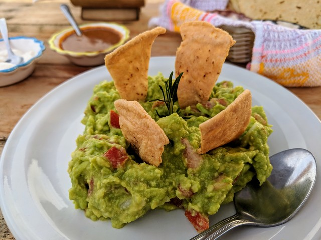 Top notch guacamole