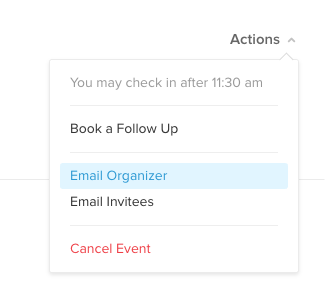 Email organizers