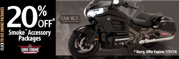 20% Off Smoke Accessory Packages