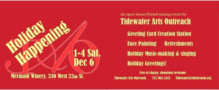 Tidewater Arts Outreach 809 Brandon Avenue Suite 300