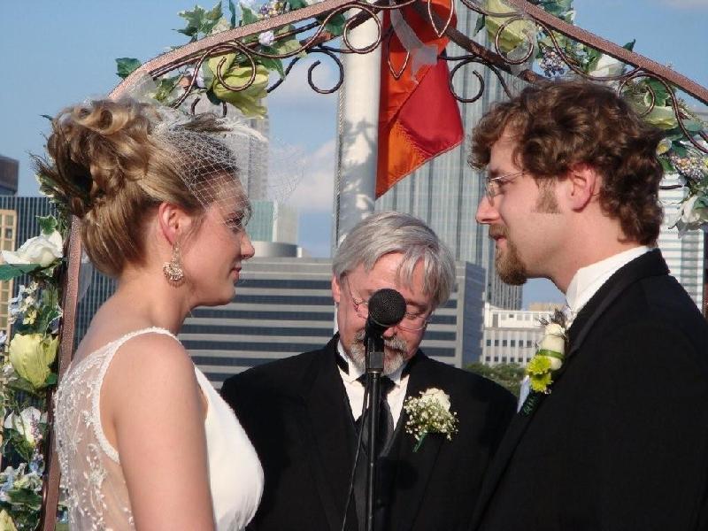 Sean & Joy take vows