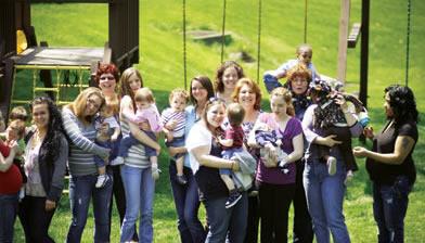 Teen moms & babies