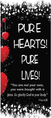 Pure hearts header