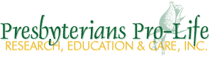 Presbyterians Pro-Life logo