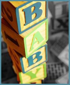 b-a-b-y blocks