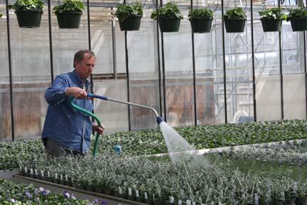pete watering