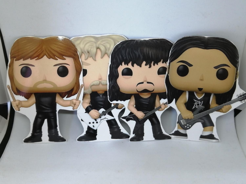 4 ímãs - Metallica
