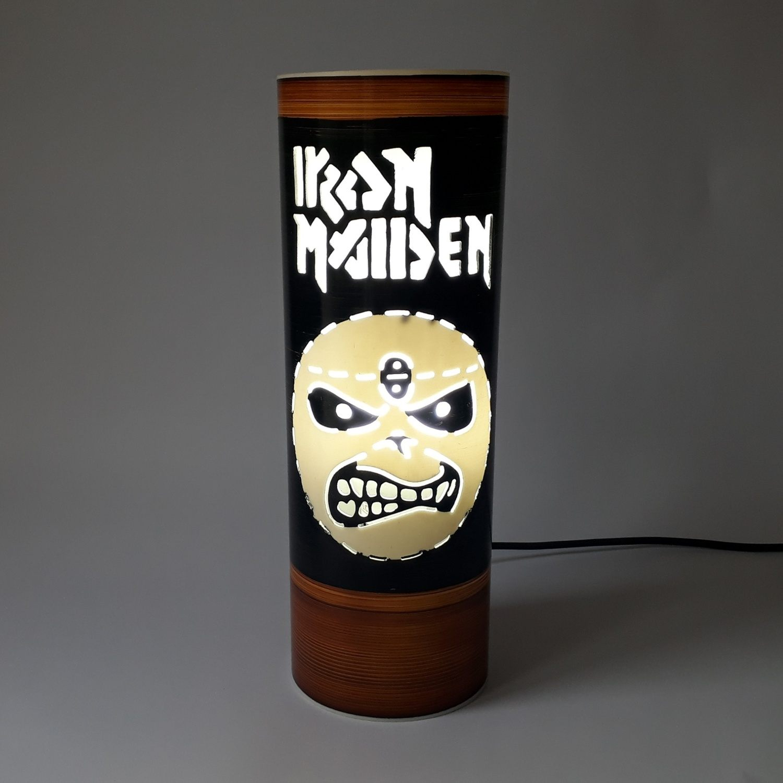 Abajur Luminária Iron Maiden II