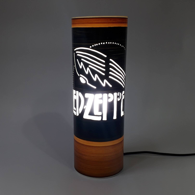 Abajur Luminária Led Zeppelin