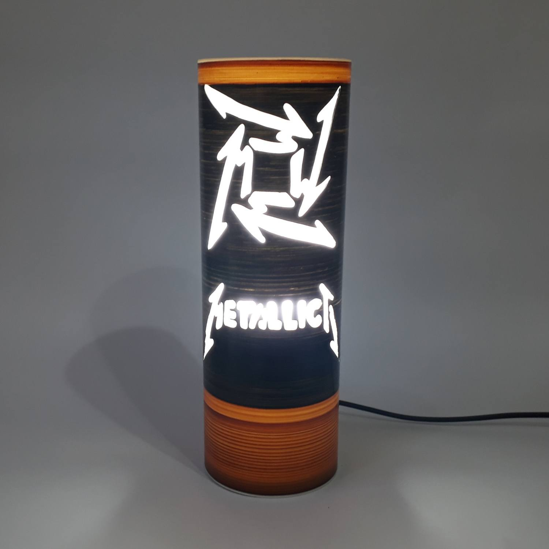 Abajur Luminária Bivolt Metallica II