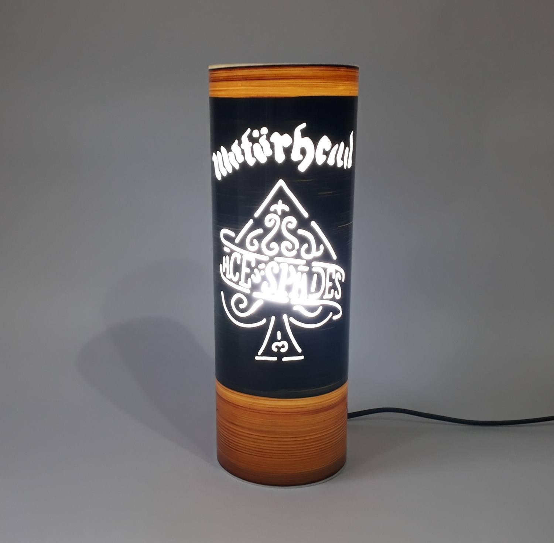 Abajur Luminária Motorhead