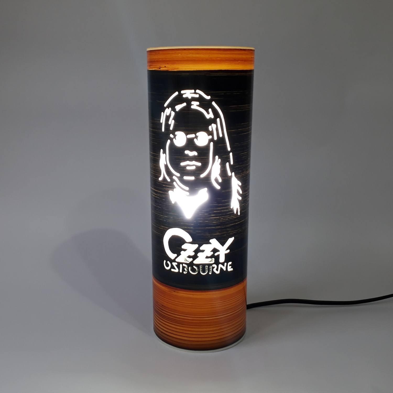 Abajur Luminária Bivolt Ozzy Osbourne