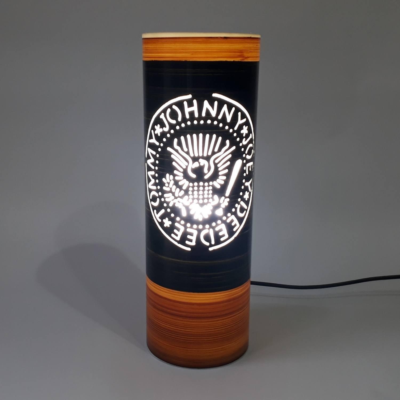 Abajur Luminária Ramones