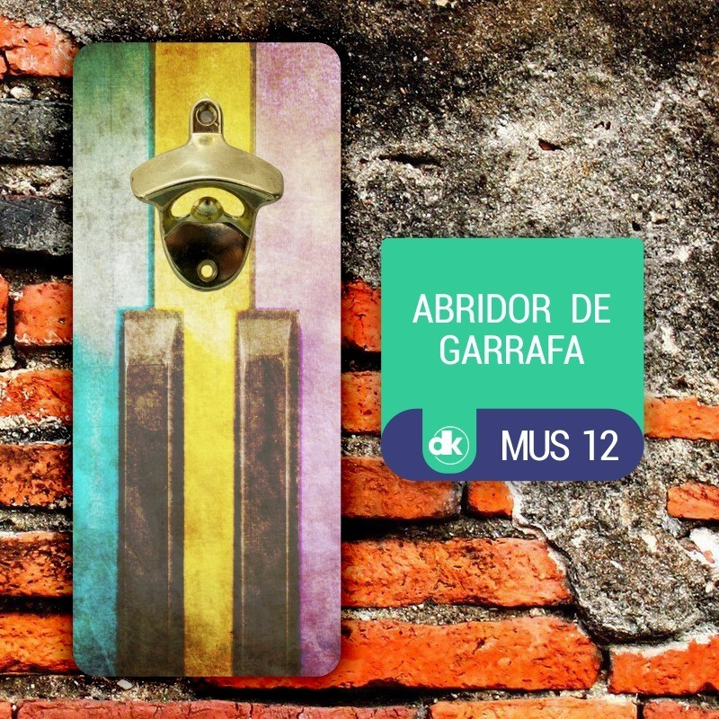 Abridor de Garrafas Dekorarte MUS12