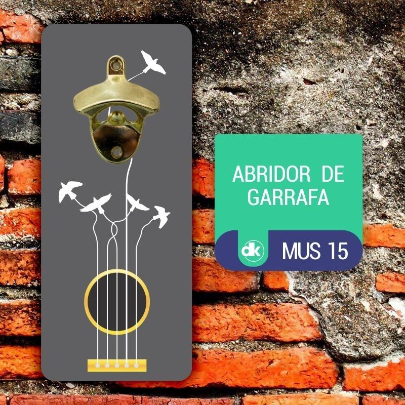 Abridor de Garrafas Dekorarte MUS15