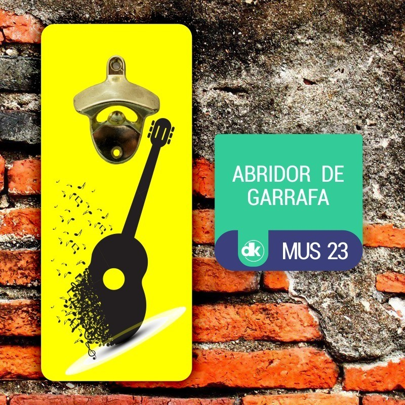 Abridor de Garrafas Dekorarte MUS23