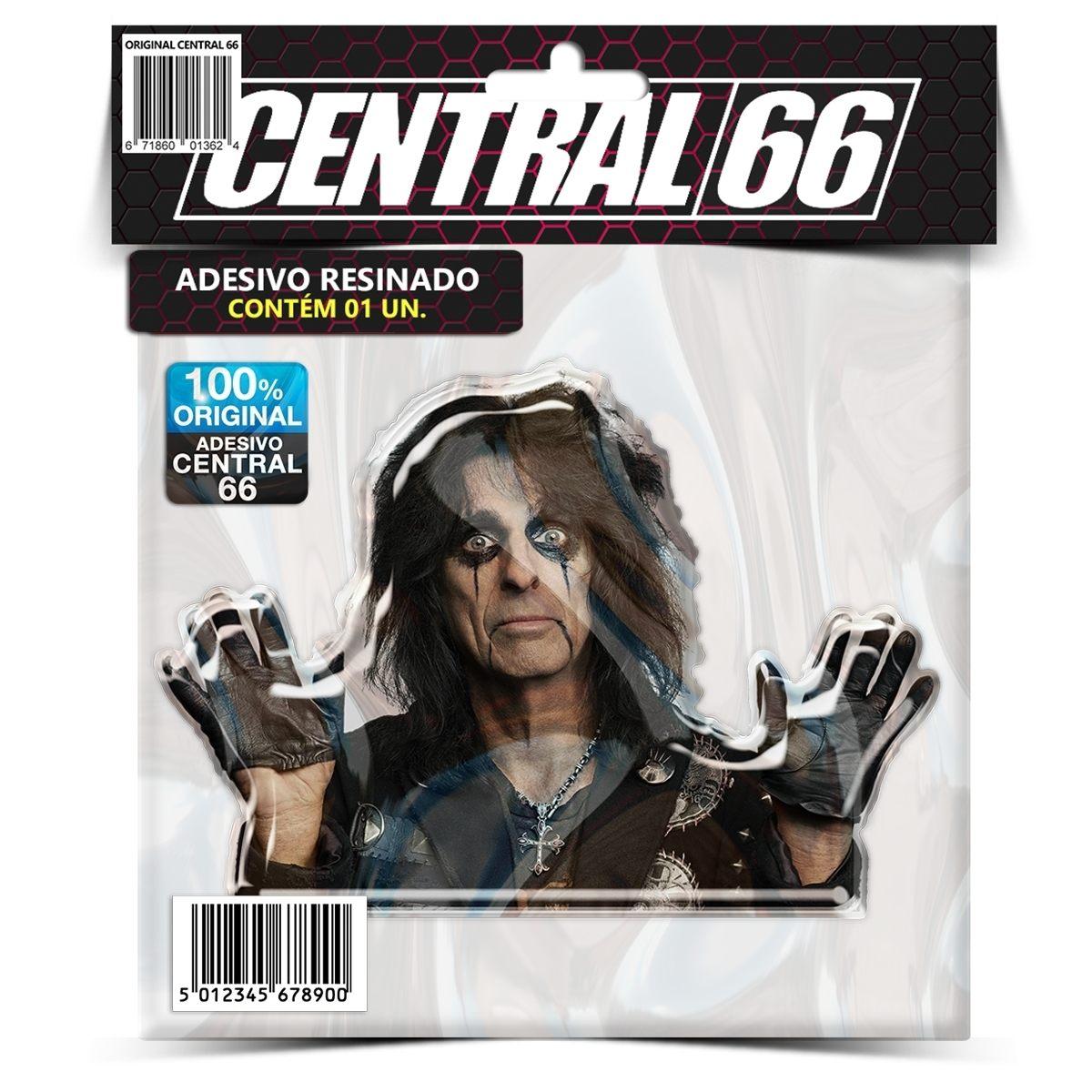 Adesivo Alice Cooper – Central 66