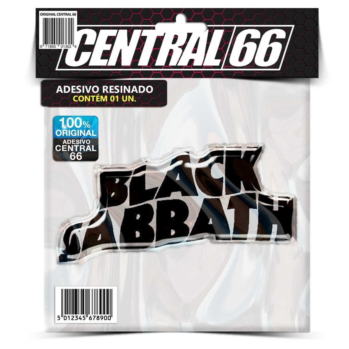 Adesivo Black Sabbath – Central 66