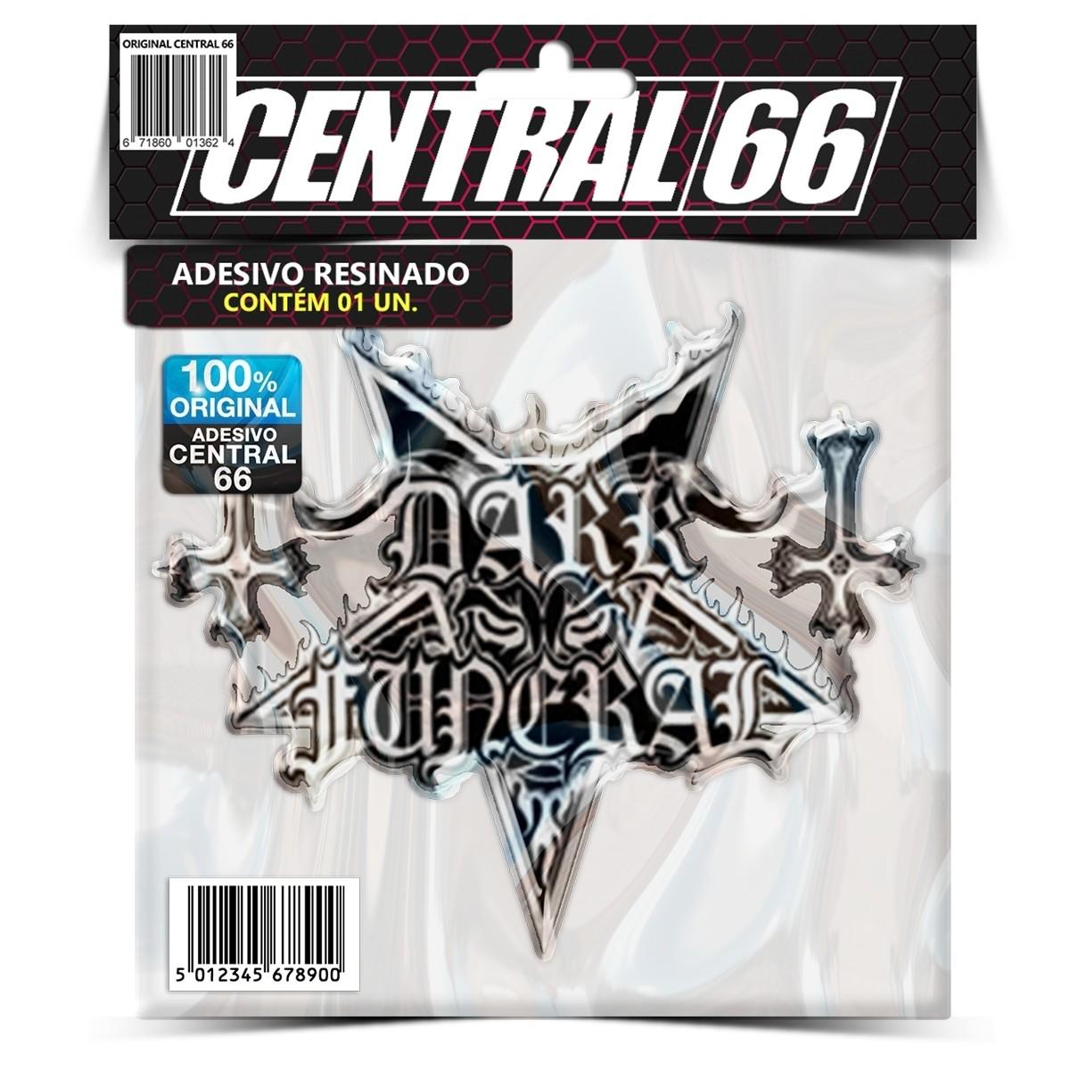 Adesivo Dark Funeral Logo – Central 66