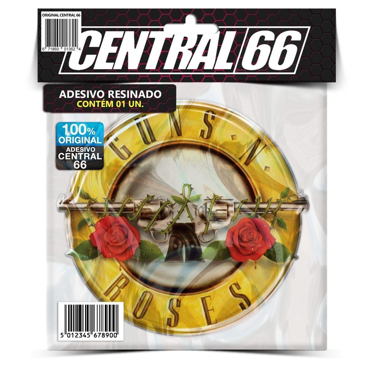 Adesivo Guns N Roses – Central 66