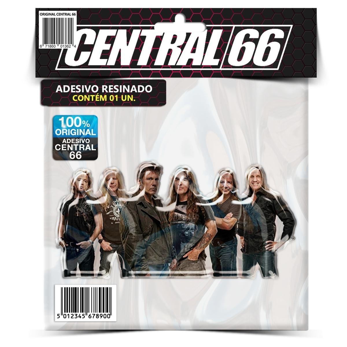 Adesivo Iron Maiden Banda M02 – Central 66