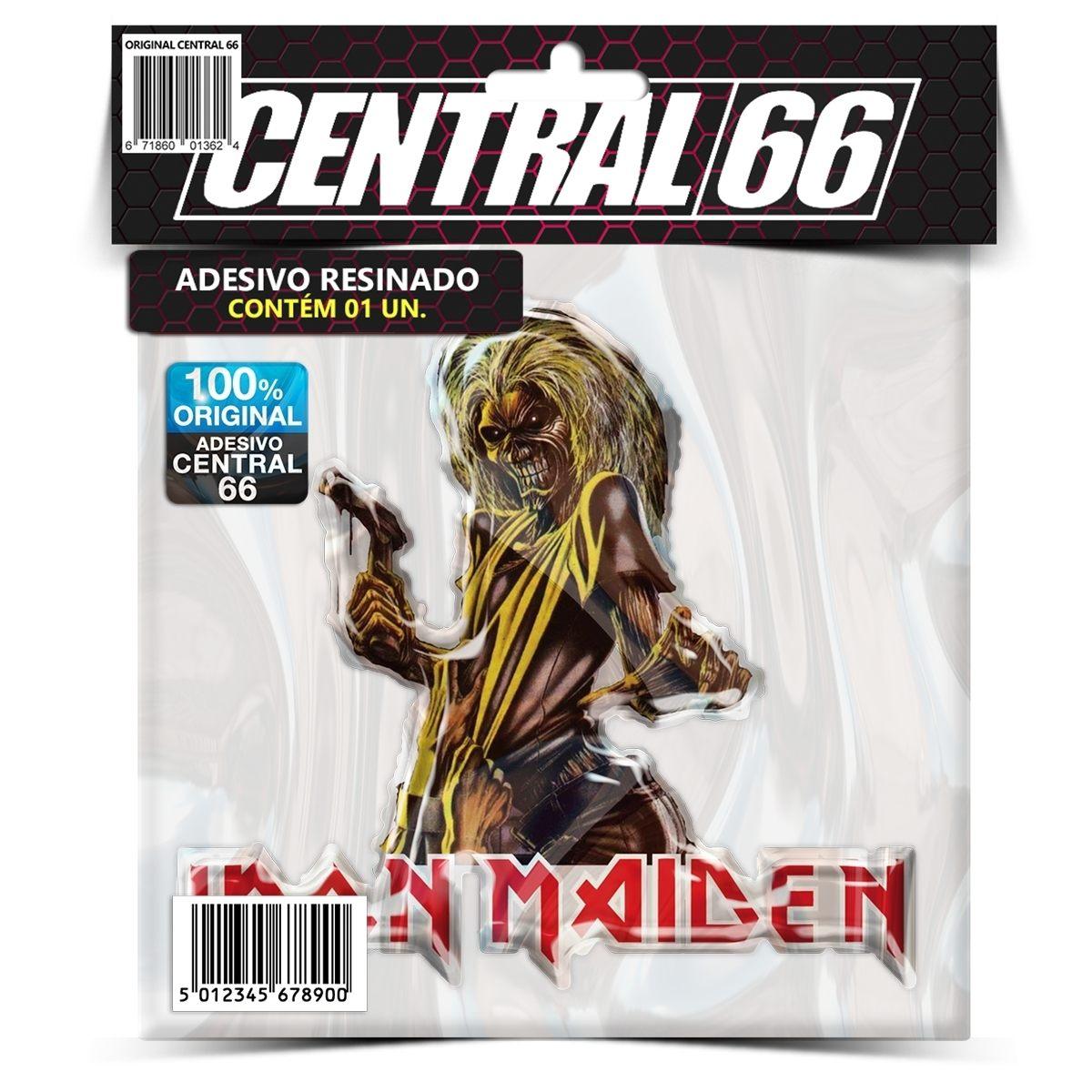 Adesivo Iron Maiden Eddie Killers – Central 66