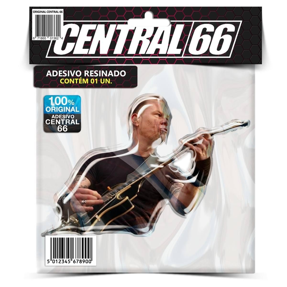 Adesivo James Hatfield Metallica – Central 66